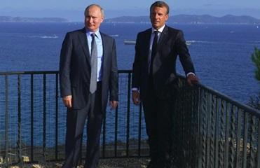 Путин и Макрон обсуждали вопрос украинцев - МИД