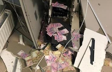 В Днепропетровской области грабитель взорвал банкомат и забрал деньги – СМИ