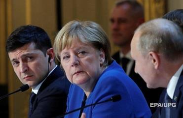 Меркель поддержала пересмотр минских соглашений