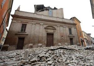 В Италии отмечаются новые подземные толчки