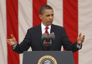 Обама отметил День независимости США в компании военнослужащих