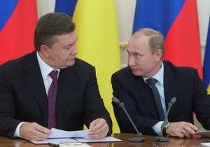 Янукович поговорил с Путиным о таможенном камне преткновения России и Украины