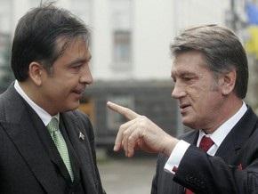 Ющенко и Саакашвили почтили память жертв Голодомора