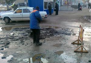 ремонт дороги - Киевавтодор - Киевавтодор обещает выполнить план по ямочному ремонту дорог ко Дню Победы