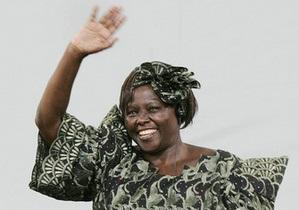 В Найроби умерла первая африканка, получившая Нобелевскую премию мира