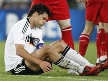 Евро-2008:  Участие Баллака в финале под вопросом