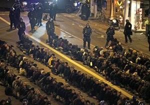 В Копенгагене полиция арестовала около 400 демонстрантов