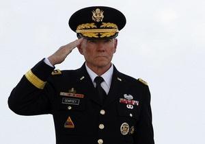 В Афганистане обстрелян самолет американского генерала