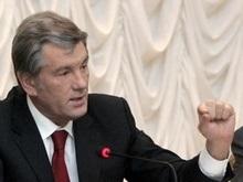 Ющенко заявил, что нардепы держат «зонтики для коррупционных связей»