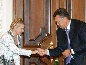 Янукович готов создать коалицию с Тимошенко