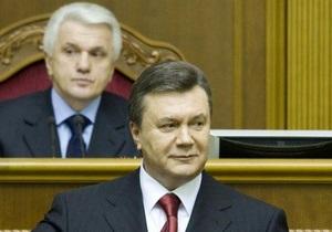 Янукович предложил повысить проходной барьер на выборах Рады