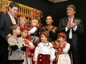 Святой Николай подарил Ющенко халат