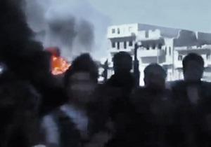Сирийская оппозиция назвала количество погибших в Алеппо и Дамаске