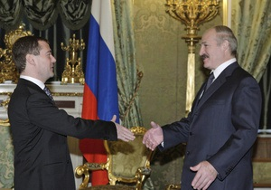 Лукашенко и Медведев отметили десятилетие Союзного государства