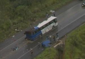 В Бразилии в результате крупной аварии погибли 15 человек