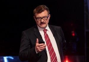 Киселев сообщил, почему Тягнибока не впустили на программу