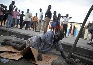 На Гаити местные жители закидали камнями миротворцев ООН