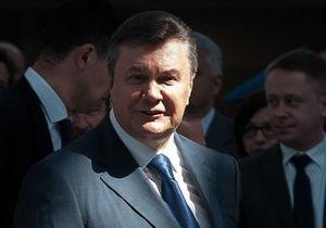 Янукович поздравил Донбасс с днем освобождения