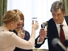 Тимошенко поехала к  вежливому  Ющенко на  милый  разговор