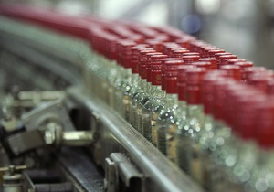 В Украине существенно выросло производство водки