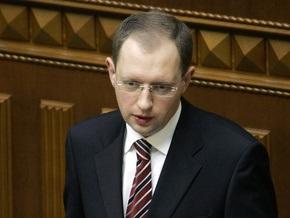 Яценюк дал 1000 гривен на памятник Мазепе в Полтаве