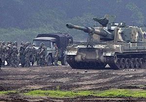 Южная Корея и США приступили к совместным военным учениям