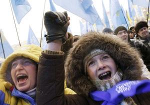 НГ: Ремейк Майдана в меньших масштабах