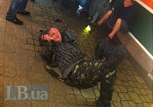 Голландец, которого нашли окровавленным на Майдане, оштрафован за хулиганство