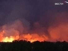 В результате пожара в Харьковской области пострадали два человека