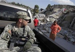 Чавес: США под видом оказания помощи оккупируют Гаити