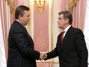 СМИ: Балога и Ющенко убедили Януковича не создавать коалицию с Тимошенко