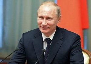 Путин поздравил с наступающим Новым годом Обаму, Януковича, Ху Цзиньтао и Лукашенко