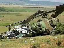 В Либерии упал украинский вертолет