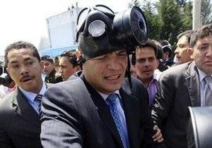 Президент Эквадора покинул госпиталь, где его удерживали полицейские