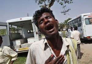 В Индии в результате ДТП пострадали 70 человек