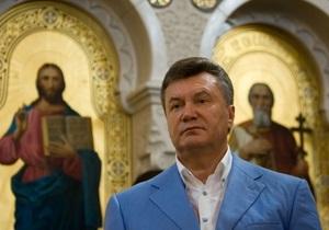 В УПЦ МП уверяют, что не просили Януковича предоставить их церкви статус доминирующей