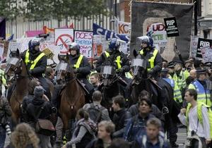 В Лондоне несколько тысяч студентов протестуют против повышения платы за обучение