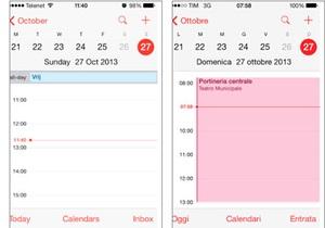 Переход на зимнее время  сломал  календарь в новой iOS - ios7 - apple