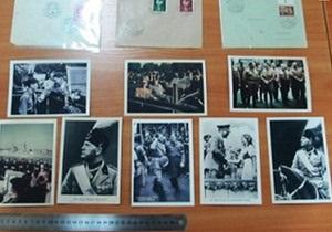 Контрабанда - фотографии - пограничники - Россиянка пыталась провезти через границу раритетные фото Гитлера и Муссолини