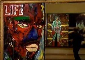 В Санкт-Петербурге открылась выставка картин Сильвестра Сталлоне