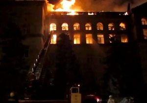 Киев: в Национальном университете биоресурсов произошел пожар