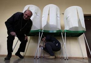 новости Грузии - выборы - На выборах президента Грузии проголосовали почти 40% избирателей
