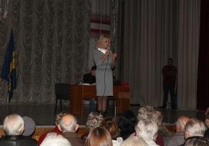 новости Черкасс - Фарион - В Черкассах презентация книги Фарион прошла без света