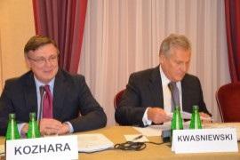 Соглашение об ассоциации - Украина-ЕС - Кожара встретился с Квасьневским в Кракове