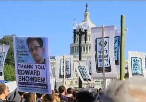 Манифестанты в Вашингтоне выразили протест против слежки