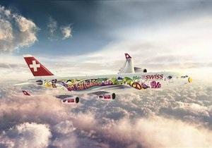 Крупнейшая авиакомпания Швейцарии начинает полеты из Борисполя