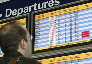 аэропорт Жуляны - туман - Из-за тумана в аэропорту Жуляны отменили семь рейсов, 12 задерживаются