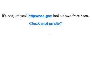 Сайт американской спецслужбы перестал работать - анб - новости сша