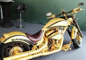 Золотой мотоцикл - Дубай - В Дубае представили самый дорогой в мире мотоцикл