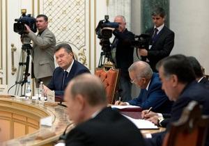Янукович: Разговоры о необходимости выбора Украины между ЕС и ТС - неверны